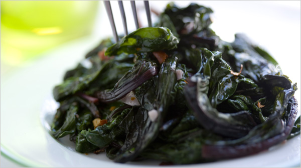 SAUTÉED BEET GREENS WITH GARLIC AND OLIVE OIL | Fitness Food and You