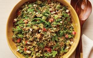 Lemony-Lentil-Quinoa-Salad
