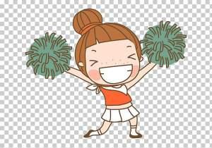 cartoon-cheerleading-clip-art-hand-drawn-cartoon-cheerleader-girl